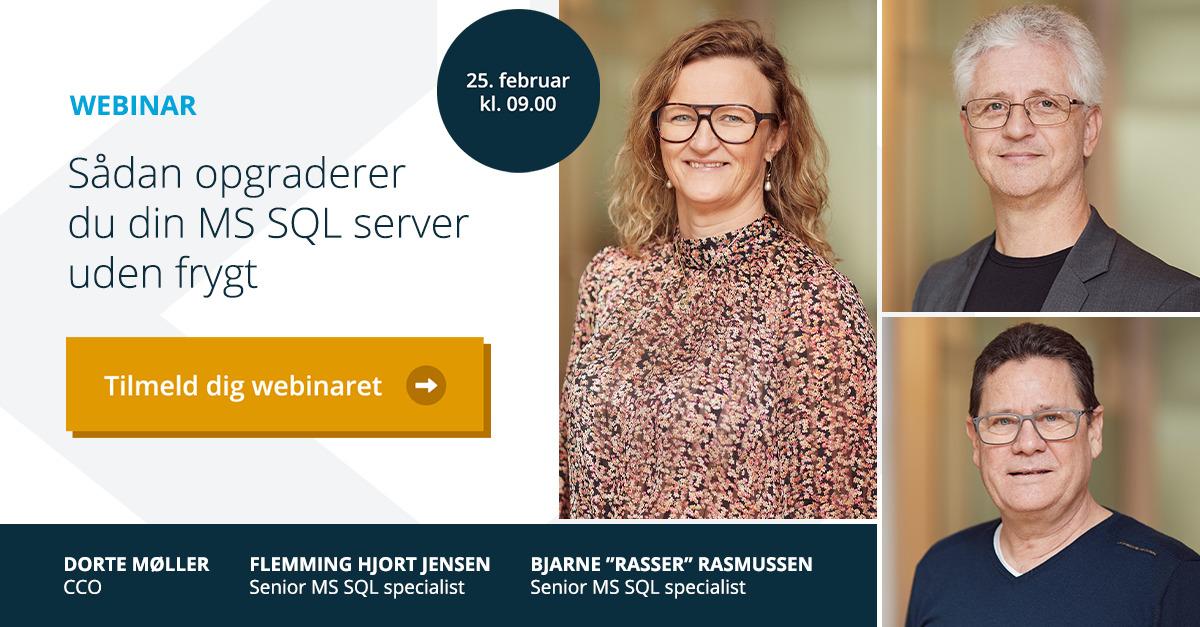 Webinar MS SQL