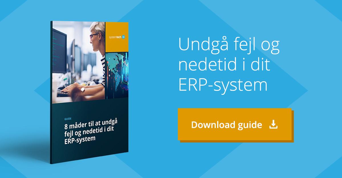 Guide undgå fejl og nedetid i ERP-systemet